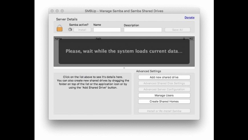 SMBUp for Mac - review, screenshots