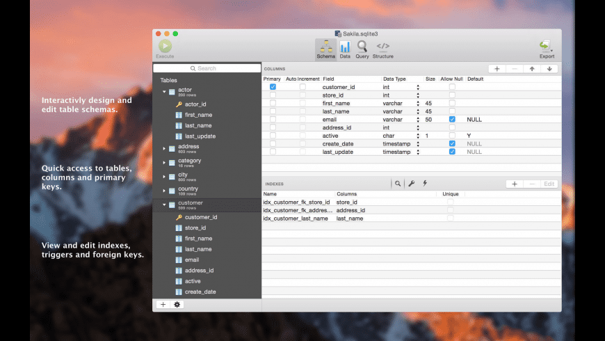 SQLPro for SQLite for Mac - review, screenshots