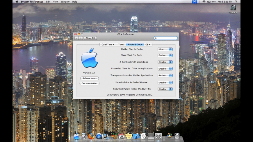 Snow Leopard Combo Pane for Mac - review, screenshots