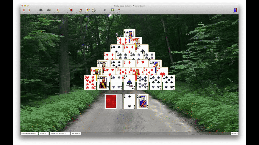 Pretty Good Solitaire for Mac - review, screenshots