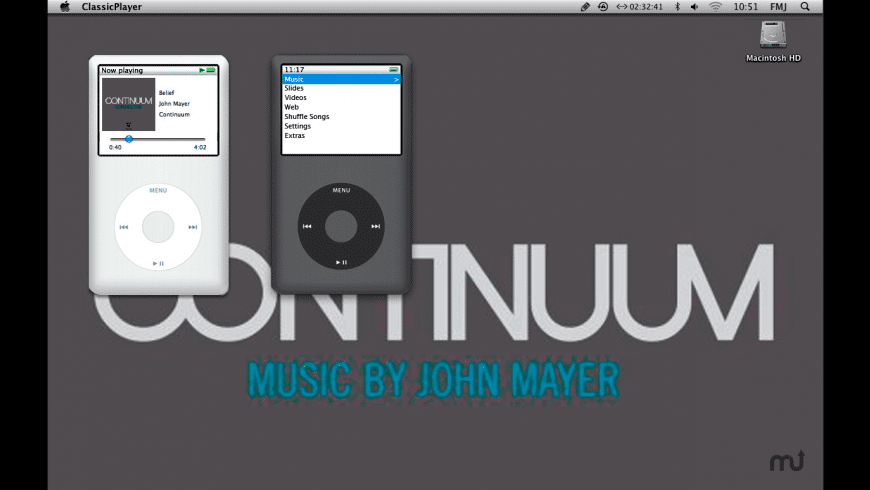 ClassicPlayer for Mac - review, screenshots