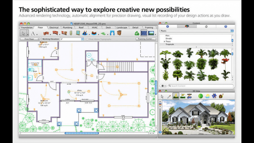 Home Design Studio for Mac - review, screenshots