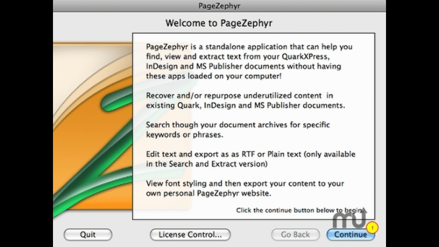 PageZephyr for Mac - review, screenshots