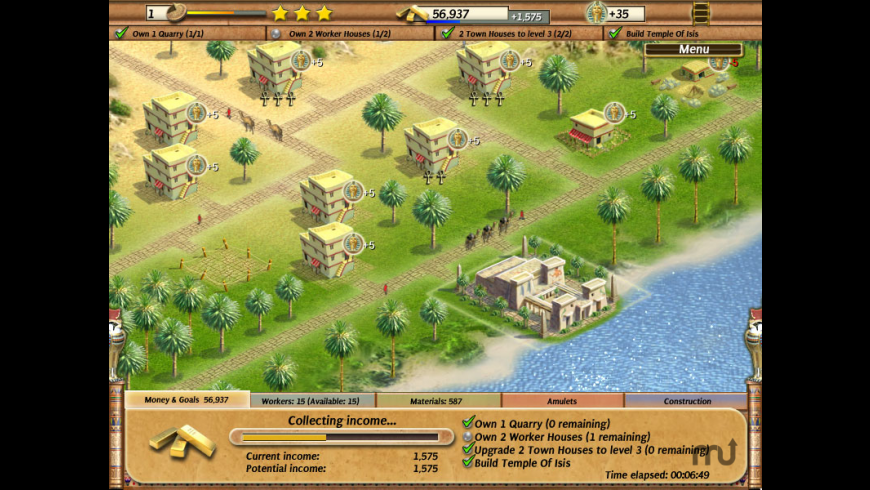 Empire Builder: Ancient Egypt for Mac - review, screenshots