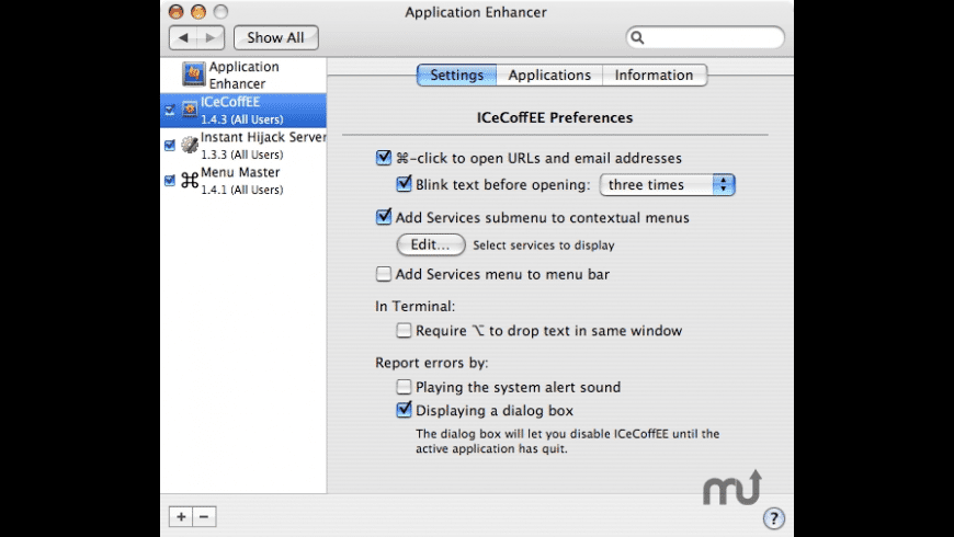 ICeCoffEE for Mac - review, screenshots