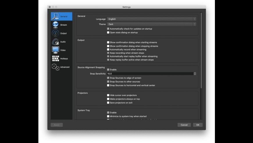 OBS Studio for Mac - review, screenshots