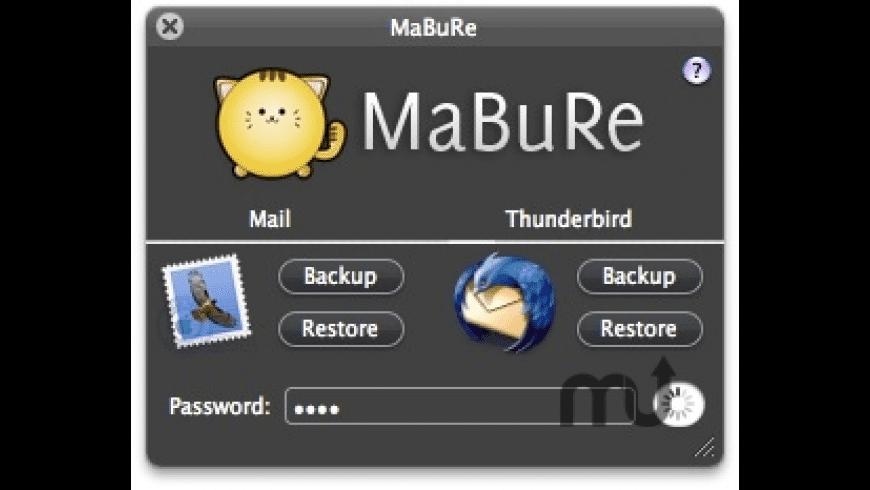 MaBuRe for Mac - review, screenshots