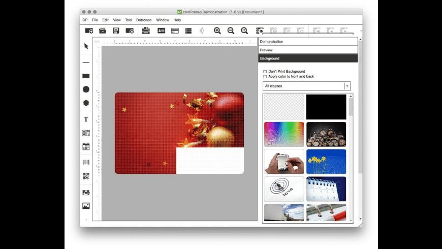 cardPresso for Mac - review, screenshots
