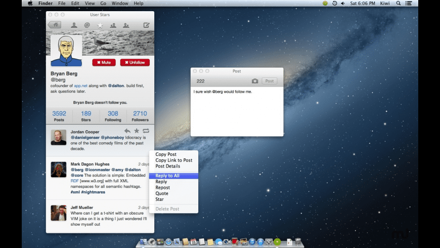 Kiwi for Mac - review, screenshots