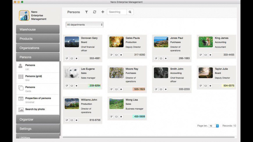 Nano Enterprise for Mac - review, screenshots