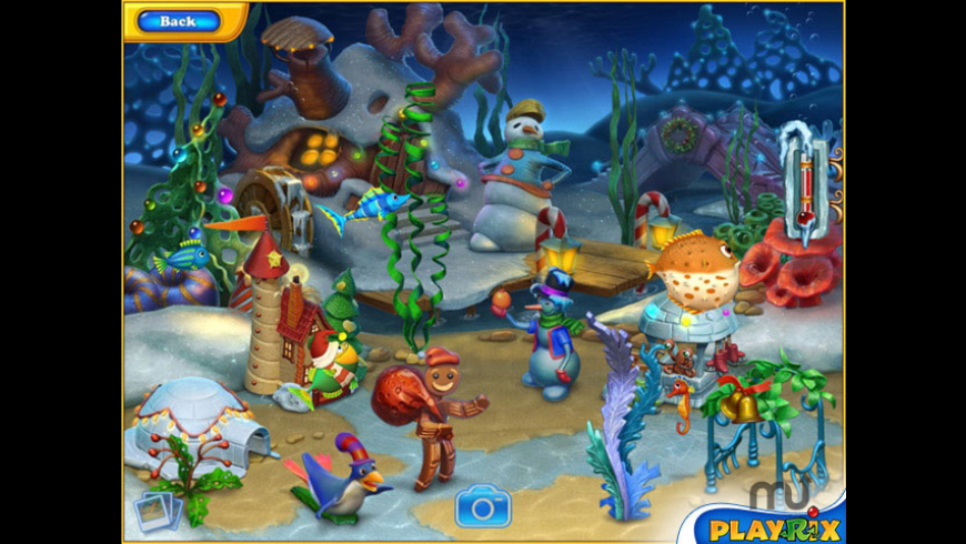 Fishdom Frosty Splash for Mac - review, screenshots