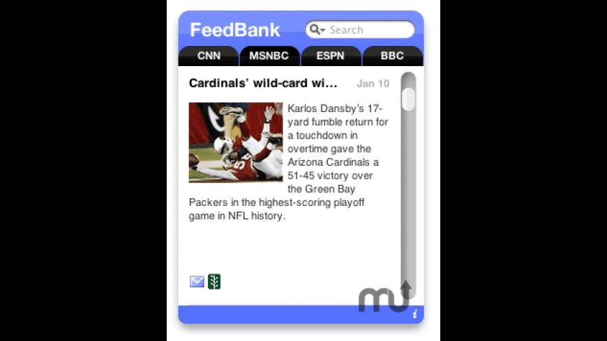 FeedBank for Mac - review, screenshots