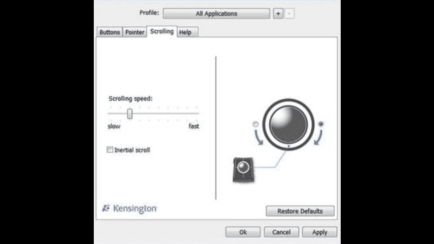 Kensington TrackballWorks for Mac - review, screenshots