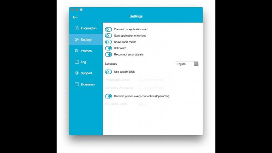 hide.me VPN for Mac - review, screenshots
