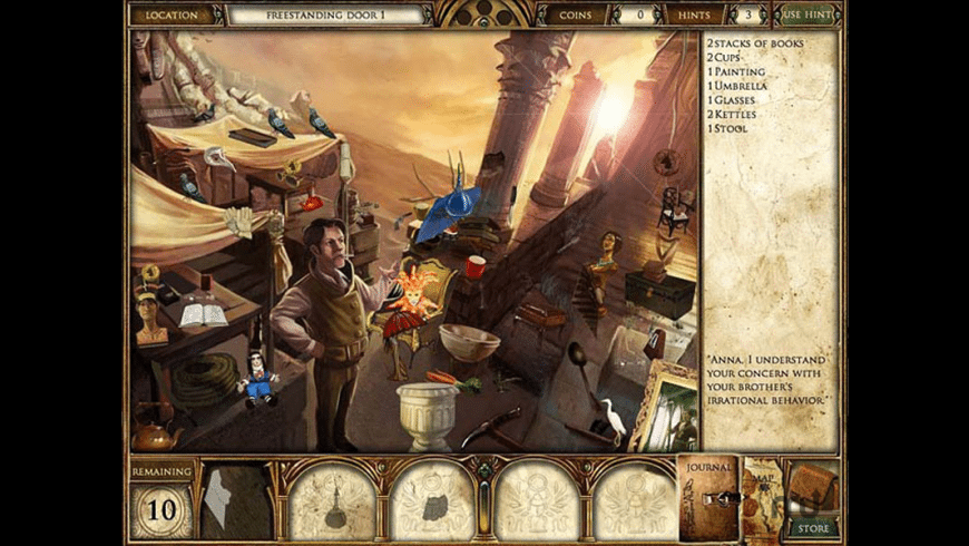 Curse of the Pharaoh: Napoleon\'s Secret for Mac - review, screenshots