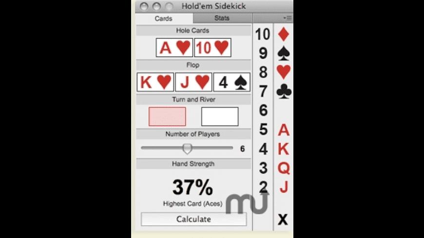Hold'em Sidekick for Mac - review, screenshots