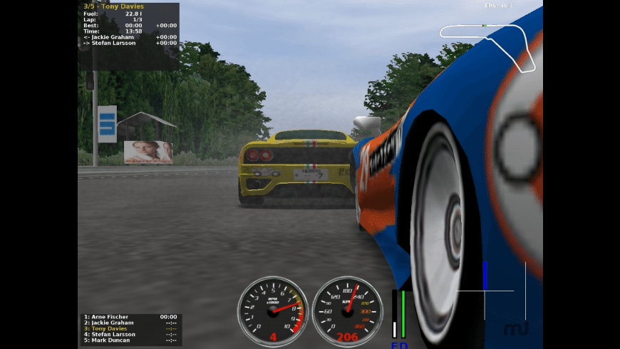 jalada Ultimate Racing for Mac - review, screenshots
