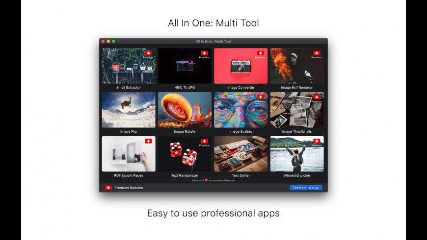 Multi Tool for Mac - review, screenshots