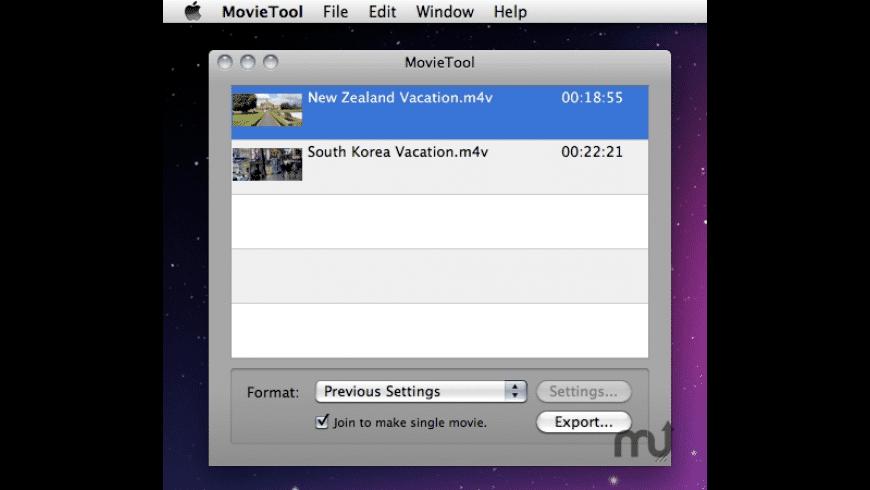 MovieTool for Mac - review, screenshots