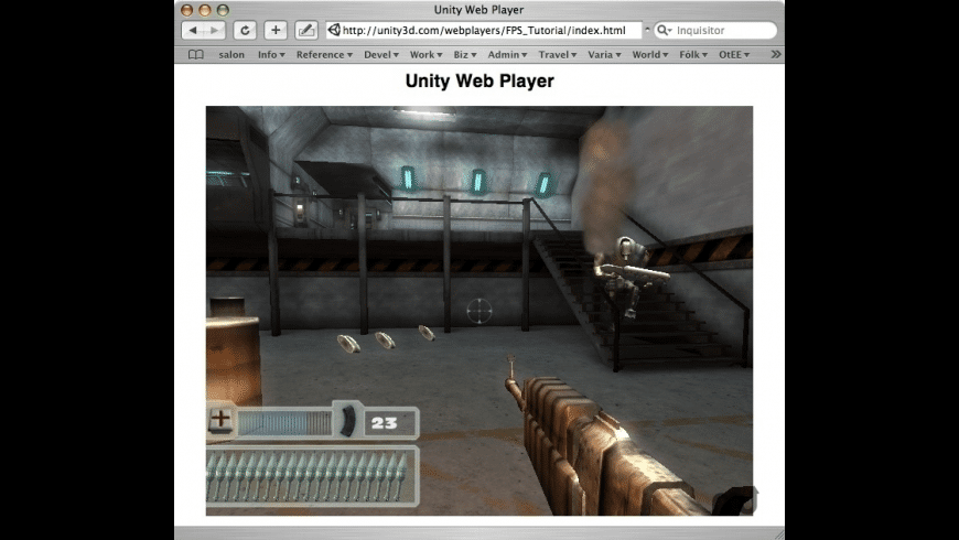 Unity Web Player for Mac - review, screenshots