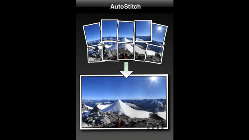 AutoStitch Panorama for Mac - review, screenshots