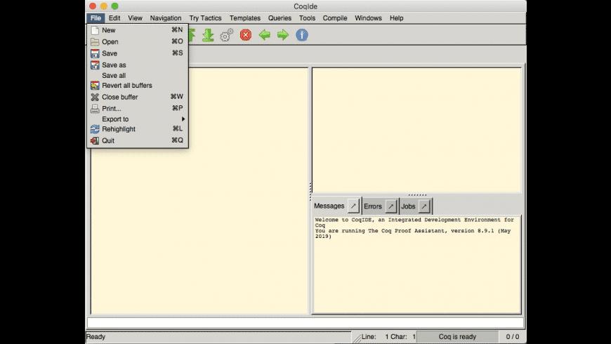Coq for Mac - review, screenshots