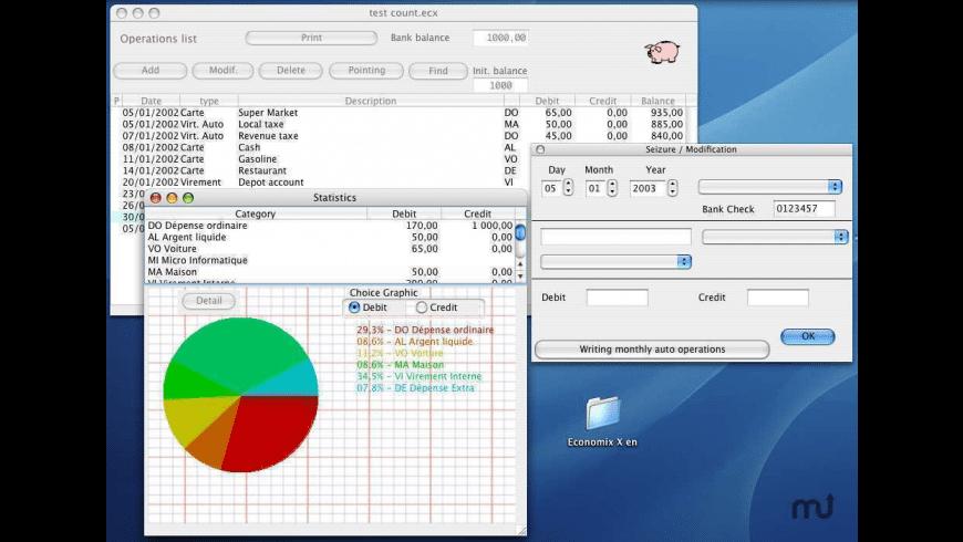 Economix for Mac - review, screenshots
