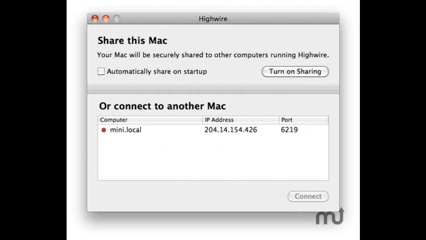 Highwire for Mac - review, screenshots