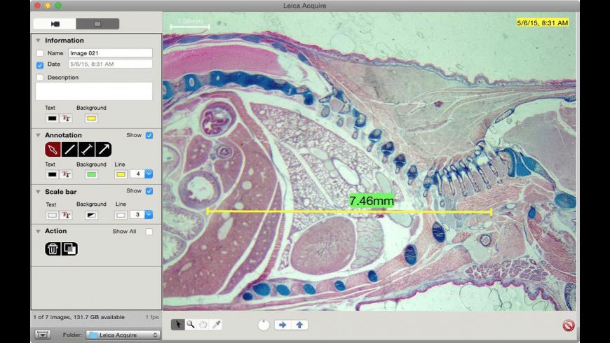Leica Acquire for Mac - review, screenshots