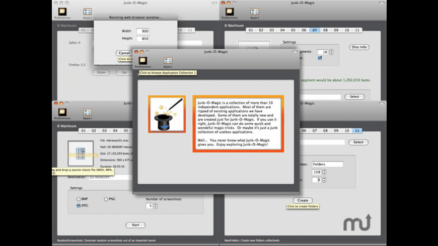 Junk-O-Magic for Mac - review, screenshots