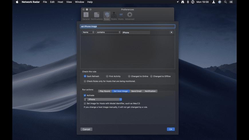 Network Radar for Mac - review, screenshots