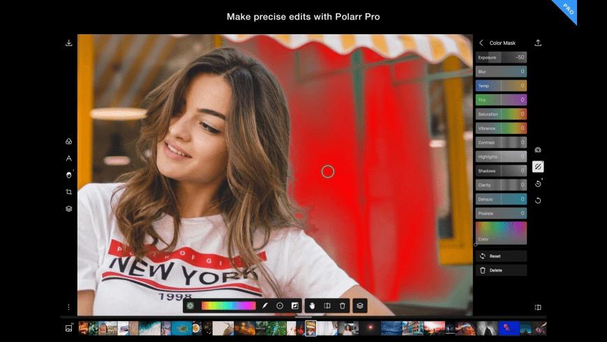 Polarr Photo Editor for Mac - review, screenshots