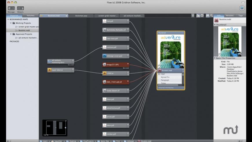 GridIron Flow for Mac - review, screenshots