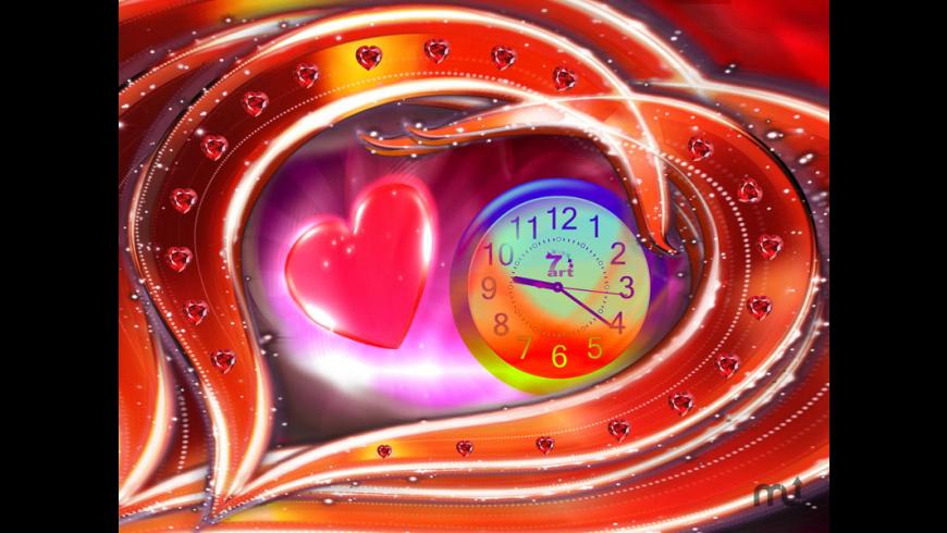 Love Dance Clock for Mac - review, screenshots