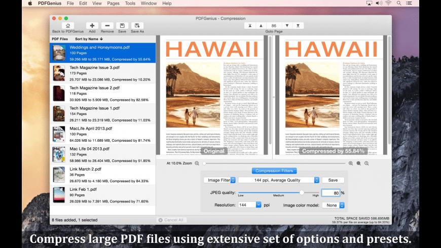 PDFGenius for Mac - review, screenshots