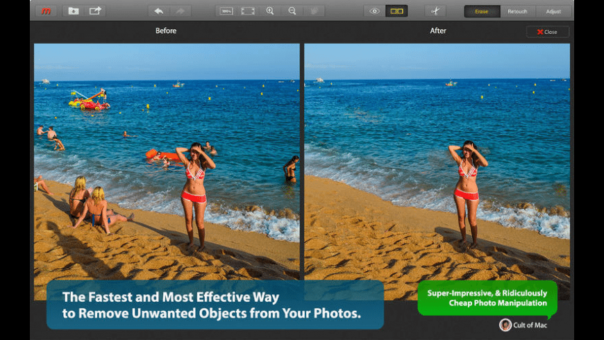 Snapheal for Mac - review, screenshots