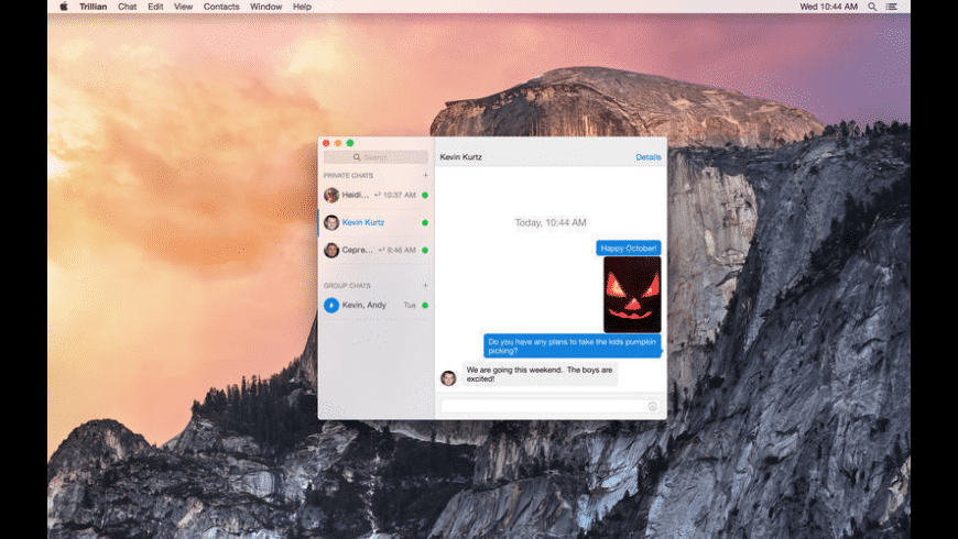 Trillian for Mac - review, screenshots