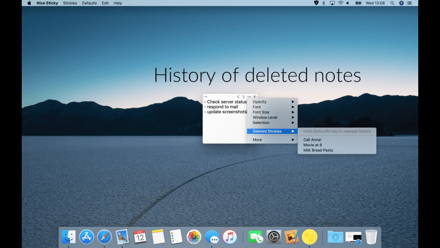 Nice Sticky for Mac - review, screenshots