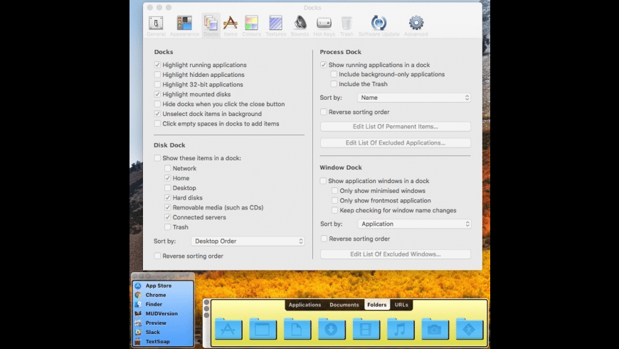DragThing for Mac - review, screenshots