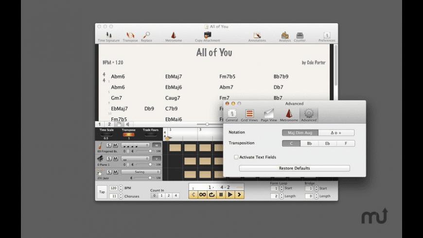 BandMaster for Mac - review, screenshots