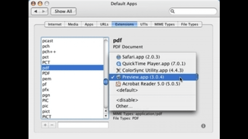 RCDefaultApp for Mac - review, screenshots