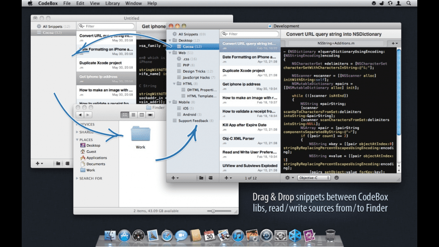 CodeBox for Mac - review, screenshots