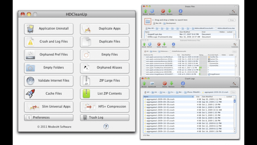 HDCleanUp for Mac - review, screenshots