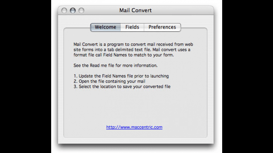 Mail Convert for Mac - review, screenshots