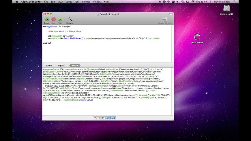 JSON Helper for Mac - review, screenshots