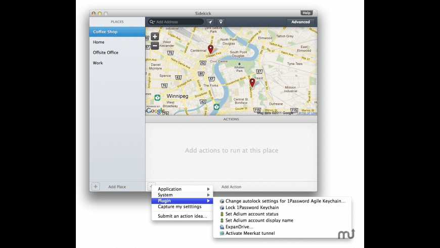 Sidekick for Mac - review, screenshots