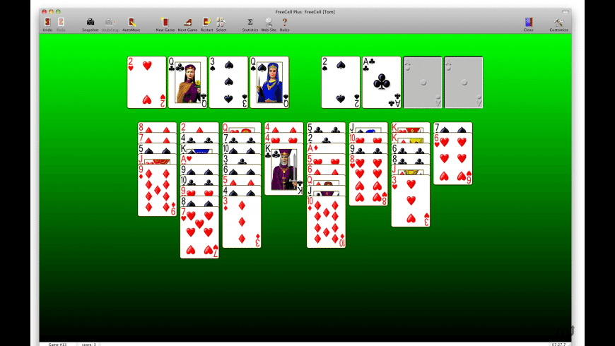 FreeCell Plus for Mac - review, screenshots