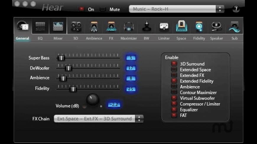 Hear for Mac - review, screenshots