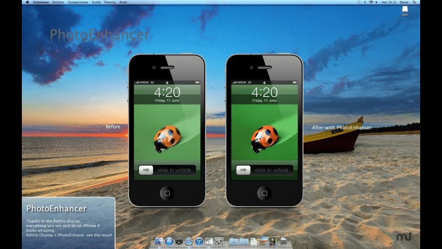 PhotoEnhancer for Mac - review, screenshots
