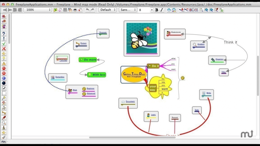 Freeplane for Mac - review, screenshots